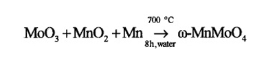 hydrothermalreaction equation image